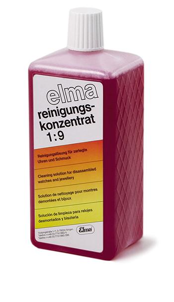 Ultraschall Elma Reinigungskonzentrat Red 1:9 Für Zerlegte Uhren 1.0 Ltr